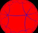 Order-6 hexagonal tiling