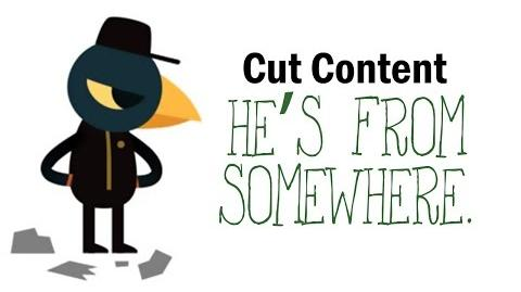 """Cut Content Night in the Woods - """"He's from somewhere."""""""