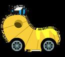 Blue Beehive Kart