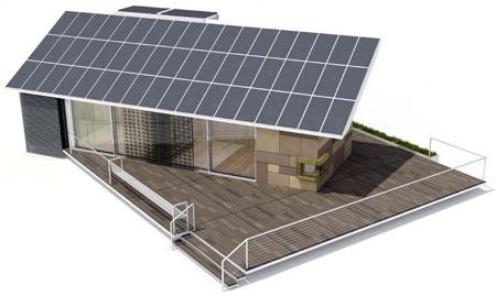 Resultado de imagem para casa solar