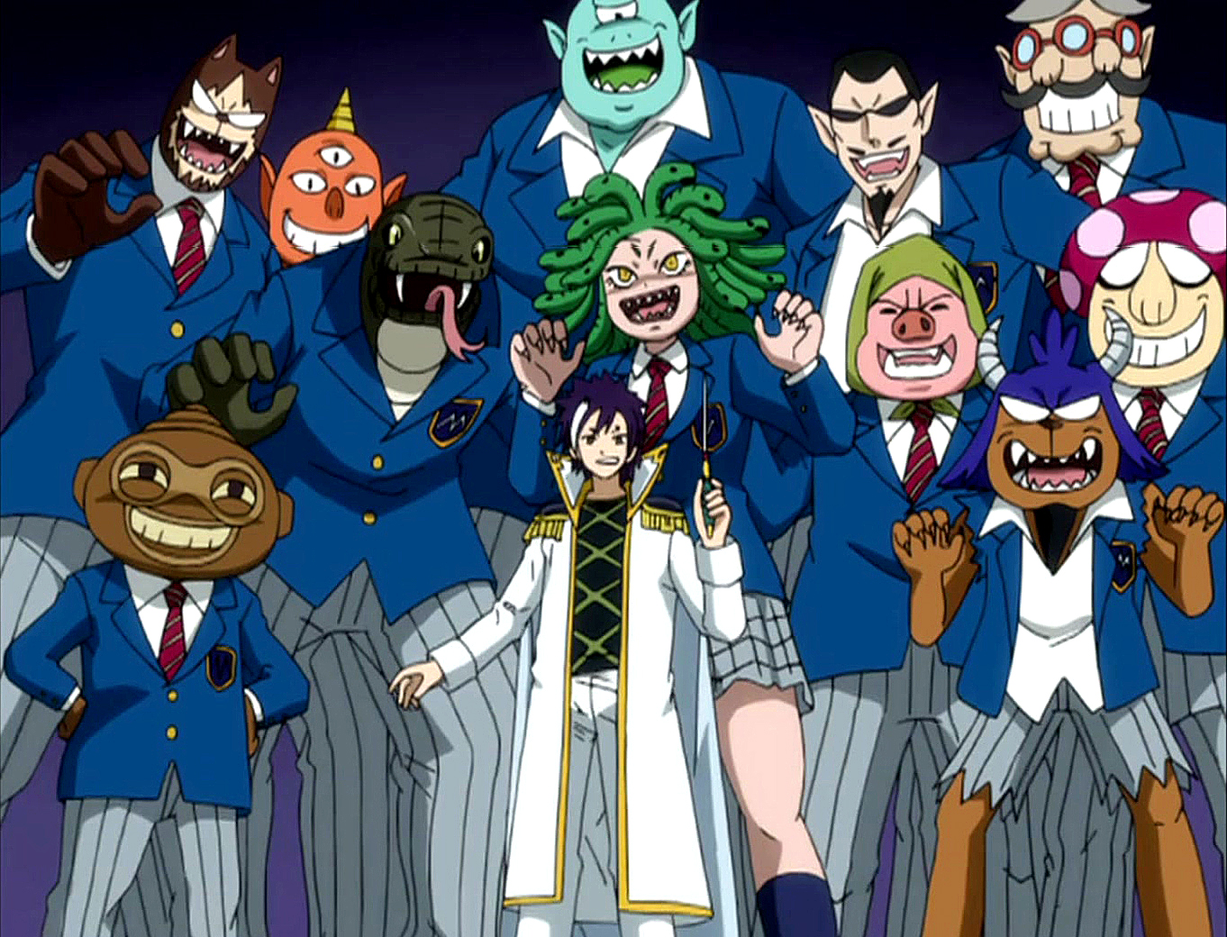 Monster Academy - Fairy Tail Wiki, the site for Hiro ...