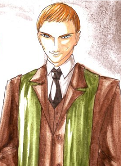 Profesor Quirrell color HPMOR