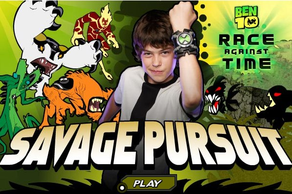 Ben 10 – Savage Pursuit – Microjogos