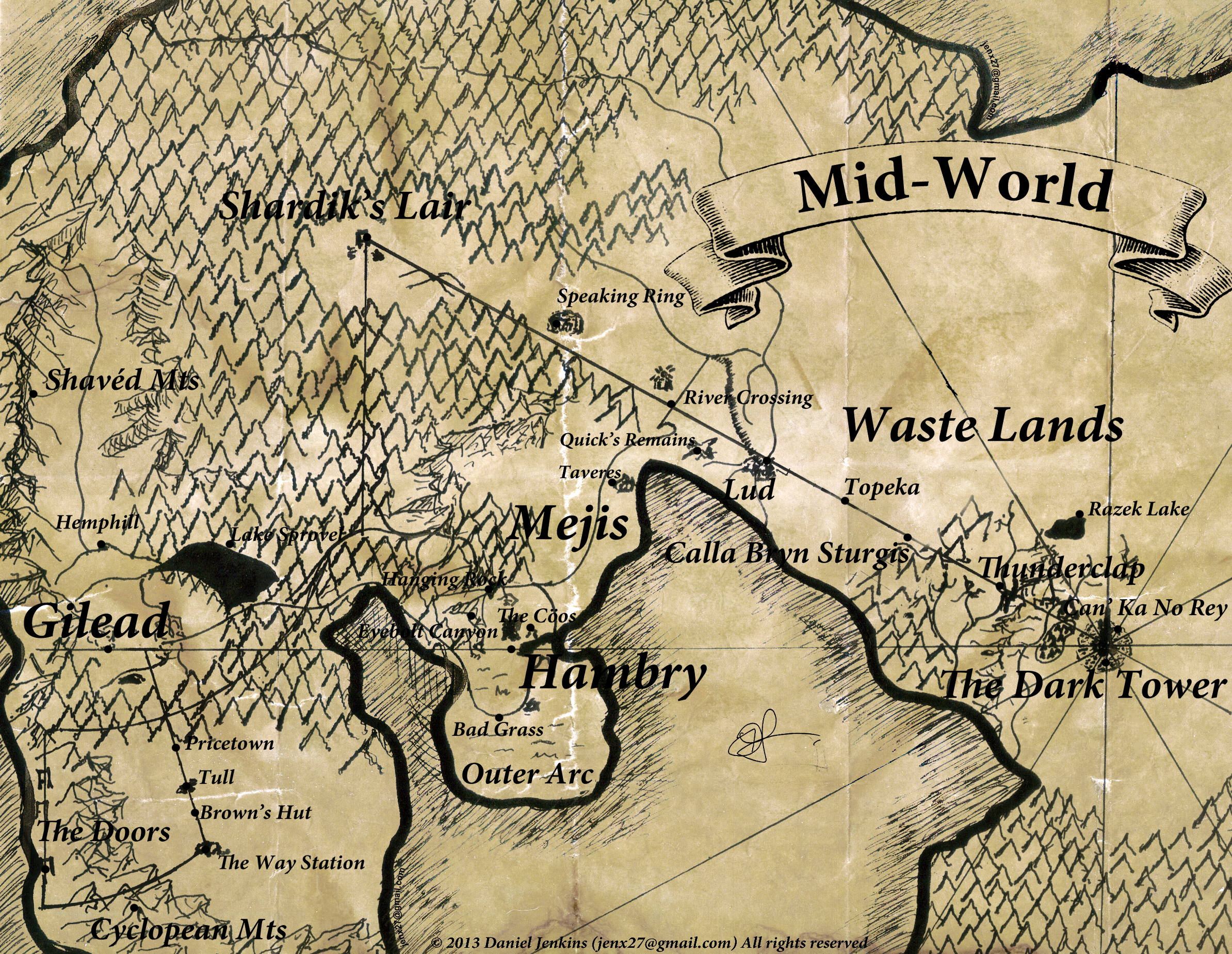 Where the maps came from? | The Dark Tower Wiki | FANDOM powered by ...