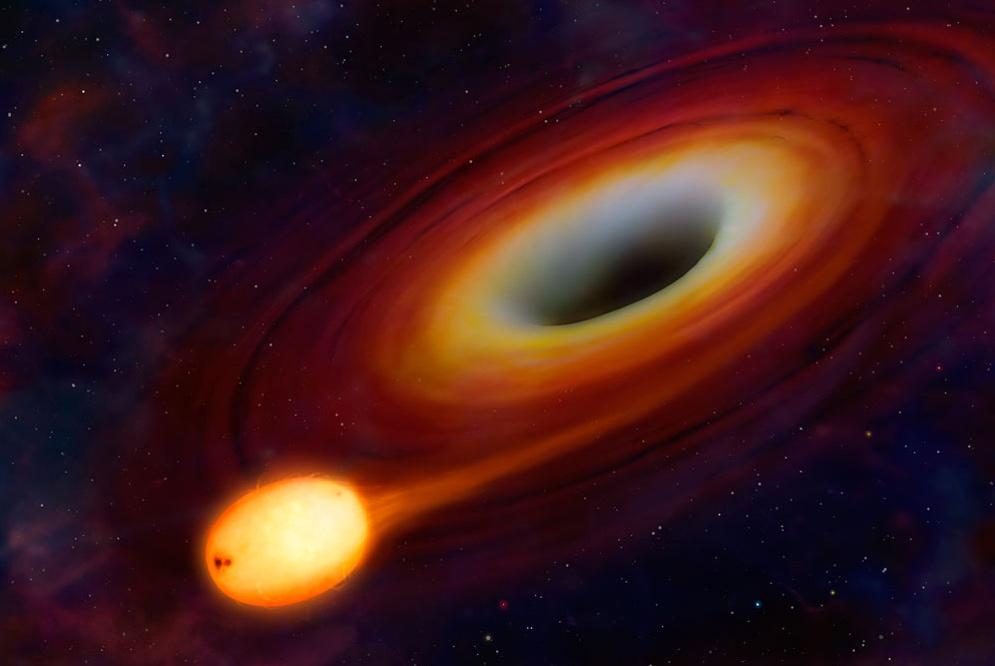 Dios y los agujeros negros